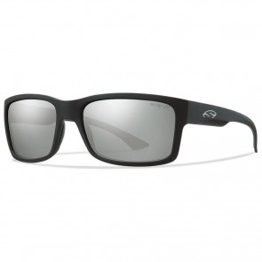 Smith Dolen Polarized Sunglasses -Matte Black/Chromapop Platinum