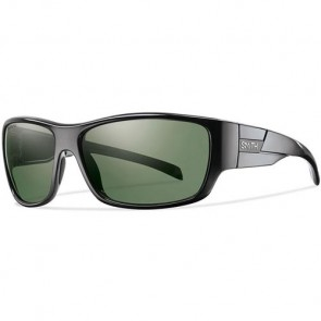 Smith Frontman Polarized Sunglasses - Black/Chromapop Grey Green