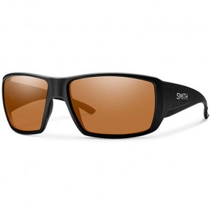 Smith Guide's Choice Polarized Sunglasses - Matte Black/Chromapop Copper