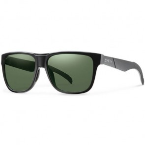 Smith Lowdown Polarized Sunglasses - Matte Black/Chromapop Grey Green
