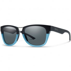 Smith Landmark Polarized Sunglasses - Matte Black Corsair/Grey