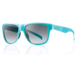 Smith Women's Lowdown Slim Sunglasses - Celeste Blue/Grey Gradient