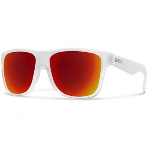 Smith Lowdown XL Sunglasses - Crystal Split/Red Sol-X Mirror