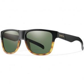Smith Lowdown XL Sunglasses - Matte Black Fade Tortoise/Grey Green