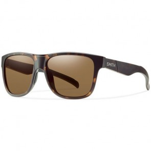 Smith Lowdown XL Polarized Sunglasses - Matte Tortoise/Brown