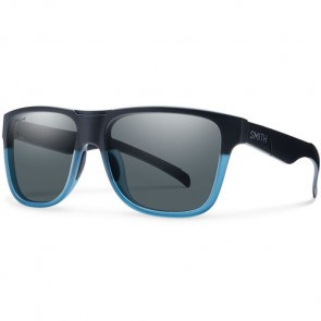 Smith Lowdown XL Polarized Sunglasses - Matte Black Corsair/Grey