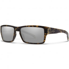 Smith Outlier Polarized Sunglasses - Matte Camo/Chromapop Platinum
