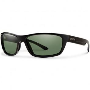Smith Ridgewell Polarized Sunglasses - Black/Chromapop+ Grey Green