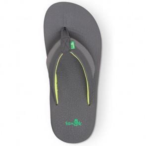 Sanuk Brumeister Sandals - Charcoal/Lightning