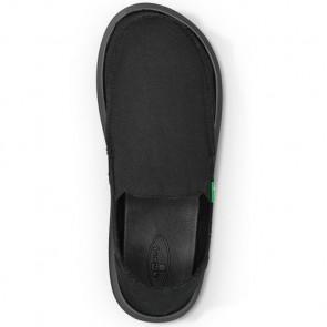 Sanuk Vagabond Shoes - Blackout