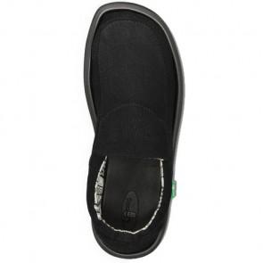 Sanuk Chiba Stitched Sandals - Black