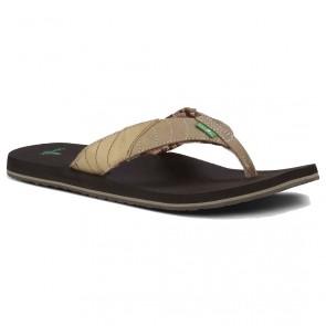 Sanuk Pave The Wave Sandals - Tan/Natural