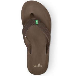 Sanuk Burm Sandals - Brown