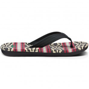 Sanuk Planer TX Sandals - Gaucho Blanket Black Red