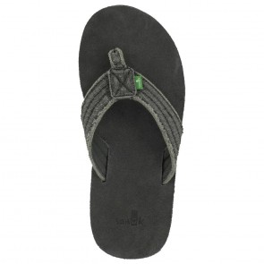 Sanuk Fraid Not Sandals - Charcoal