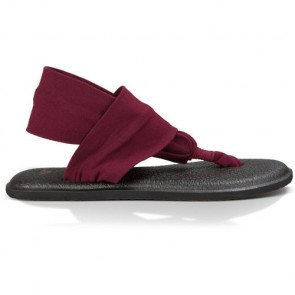Sanuk Women's Yoga Sling 2 Sandals - Burgundy