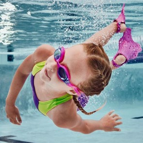 Speedo Youth Skoogle Goggle - Bright Pink