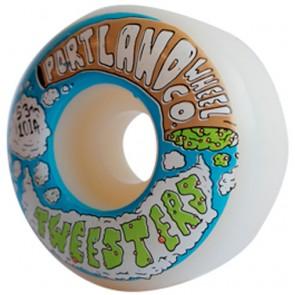 Portland Wheel Co. 53mm Tweesters Wheels - White