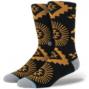 Stance Sun Volt Socks - Black