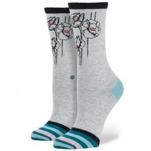 Stance Women's Ladybird Socks - Grey Heather