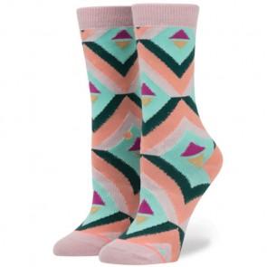 Stance Women's Bonny Tomboy Socks - Peach