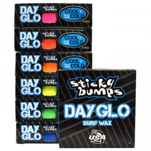 Sticky Bumps Day Glo Cool/Cold Surf Wax