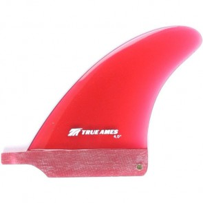 True Ames Fins 5'' Small Box Fin - Red