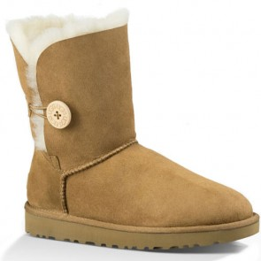 UGG Australia Bailey Button II Boots - Chestnut
