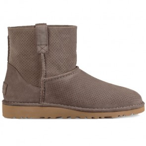UGG Australia Classic Unlined Mini Perf Boot - Mole