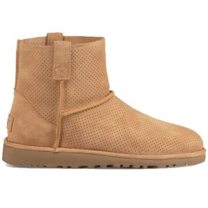 UGG Australia Classic Unlined Mini Perf Boot - Tawny