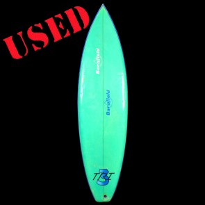 "Bill Barnfield Surfboards - USED 6'6"" Tri 3 Surfboard"