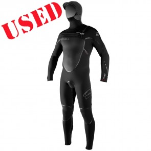 USED O'Neill Pyrotech 5.5/4 Hooded Wetsuit - Size XL