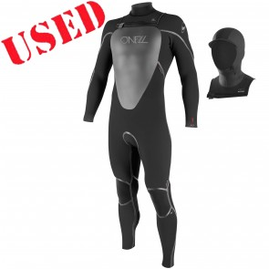 USED O'Neill Mutant 4/3 Hooded Wetsuit - Size MT