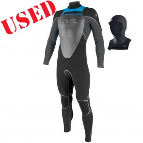 USED O'Neill Youth Mutant 5/4/3 Hooded Wetsuit - Size 10