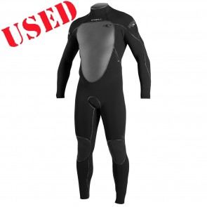 USED O'Neill Psycho III 4/3 Back Zip Wetsuit - Size L