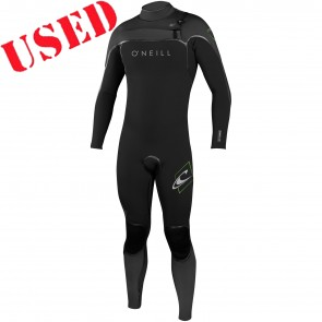 USED O'Neill Psycho I 4/3 Chest Zip Wetsuit - Size M