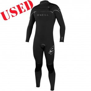 USED O'Neill Psycho I 4/3 Chest Zip Wetsuit - Size MT
