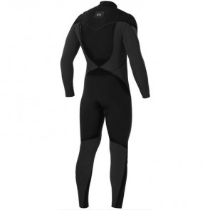 USED Quiksilver Ignite 4/3 Chest Zip Wetsuit - Size XL
