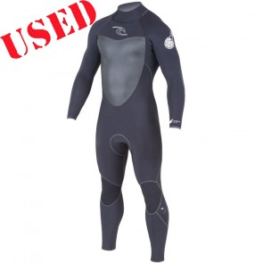 USED Rip Curl Dawn Patrol 3/2 Back Zip Wetsuit - Size XXXL