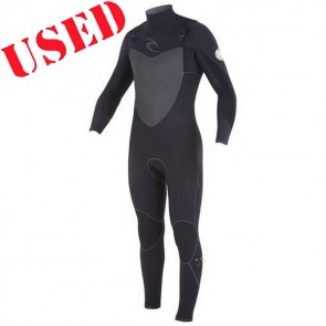 USED Rip Curl Flash Bomb Plus 4/3 CZ Wetsuit - Size MS