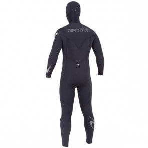 USED Rip Curl E-Bomb 5.5/4.5 Hooded CZ Wetsuit - Size XL