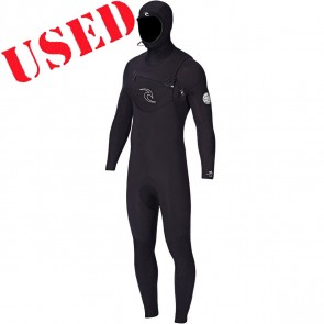 USED Rip Curl Dawn Patrol 5/4 Hooded Wetsuit - Size LT
