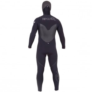 USED Rip Curl Flash Bomb 5.5/4 Hooded Wetsuit - Size L