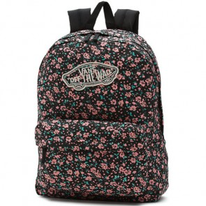 Vans Women's Realm Backpack - Black Daydream Floral