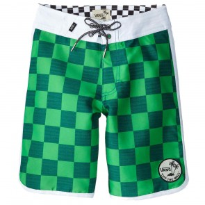 Vans Youth Planetary Boardshorts - Green