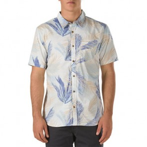 Vans Ocotillo Short Sleeve Shirt - White Acid Palm