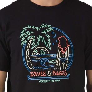 Vans Waves N Babes T-Shirt - Black