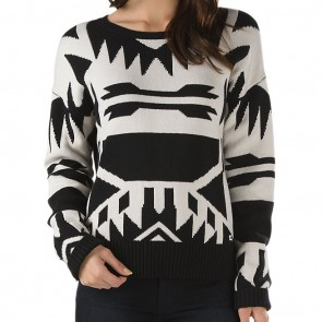 Vans Women's Best Dressed Sweater - White Sand