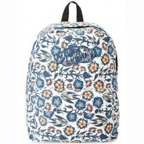 Vans Women's Realm Backpack - Floral/Dress Blues