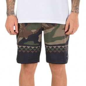 Vans Mixed Scallop Boardshorts - Peace Leaf Camo